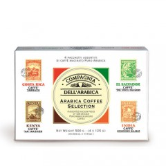 Arabica Coffee Selection - Coffret Moulu