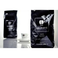 "Lollo Nero Espresso - ""Fort"" Café en grains 1 kg"
